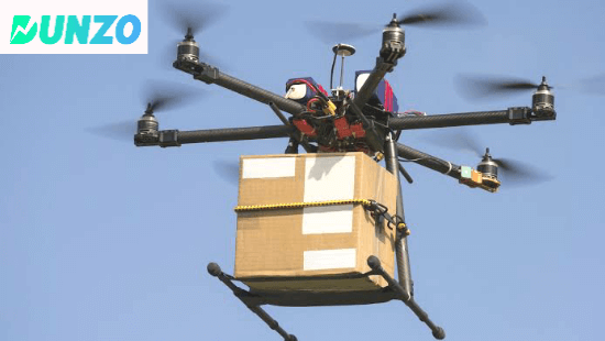 Dunzo Drone Delivery