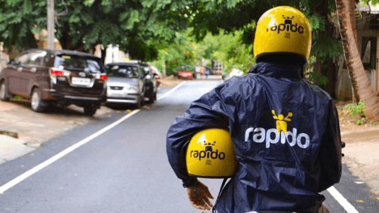 Indian online bike taxi aggregator Rapido