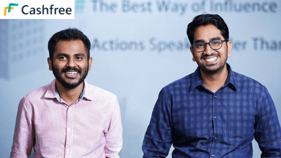 Cashfree Founders Reeju Datta and Akash S