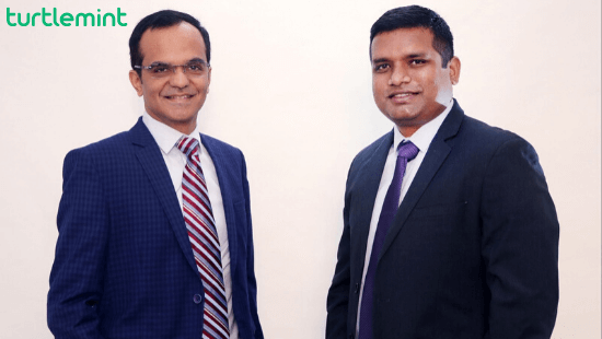 Turtlemint Founders- Dhirendra Mahyavanshi and Anand Prabhudesai