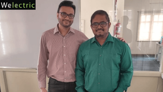 Welectric Founders: Vikas Jain and Tamilselvan Subramanian