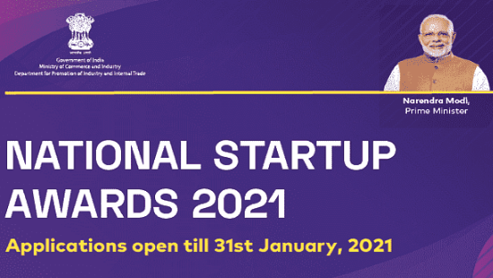 DPIIT and National Startup Awards 2021