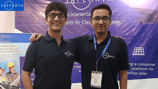 SafEarth Founders: Harshit Poddar and Anuvrat Saboo