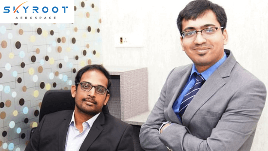 Skyroot Aerospace Founders: Pawan Kumar Chandana and Naga Bharath Daka