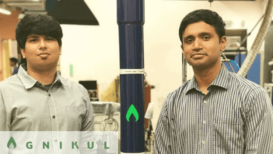 Agnikul Cosmos Founder: Srinath Ravichandran and Moin SPM: