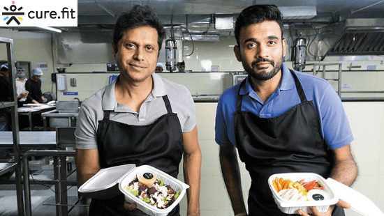 Curefit Founders: Ankit Nagori and Mukesh Bansal