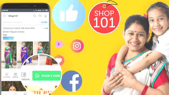 Social commerce platform Shop101