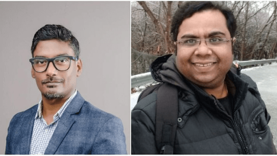 Meta16Labs Founders- Anil JJ and Dr Ashvath Vinayak Kulkarni