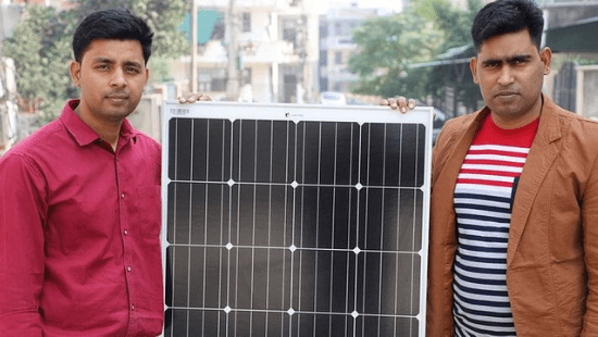 Loom Solar Founders-Amol Anand and Amod Anand.