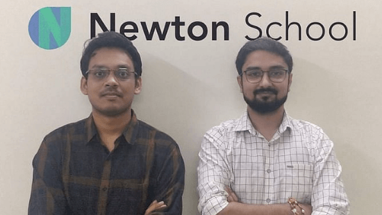 Newton School Founders: Nishant Chandra and Siddharth Maheshwari