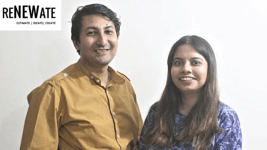 ReNEWate Founders- Supratik Ghatak and Debashree Ghatak