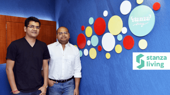 Stanza Living Founders- Anindya Dutta and Sandeep Dalmia
