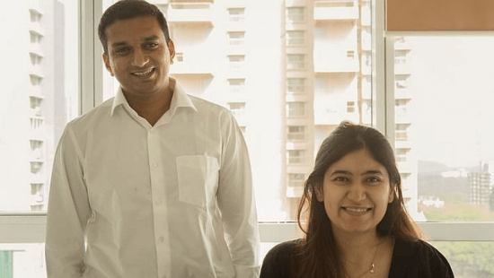Traya Founders- Saloni Anand and Altaf Saiyed