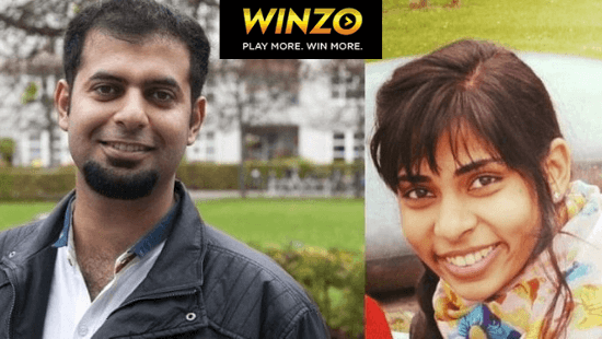 WinZO Founders- Paavan Nanda and Saumya Singh Rathore