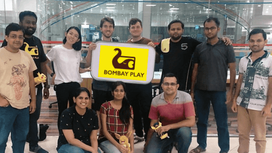 Bombay Play Founders: Oliver Jones and Abhas Saroha