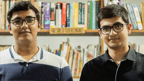 Pixxel Founders: Awais Ahmed and Kshitij Khandelwal