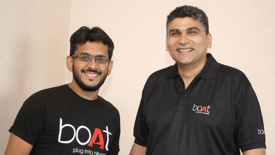 Aman Gupta and Sameer Mehta, Co-Founders, boAt