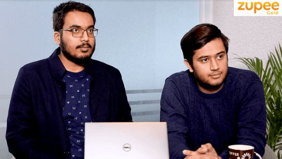 Zupee Founders: Dilsher Singh Malhi and Siddhant Saurabh