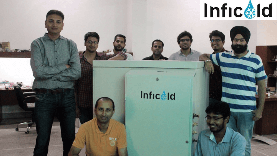 Inficold founders: Himanshu Pokharna and Nitin Goe