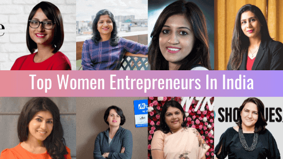 Top Women Entrepreneurs In India
