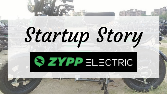Startup Story Zypp Electric