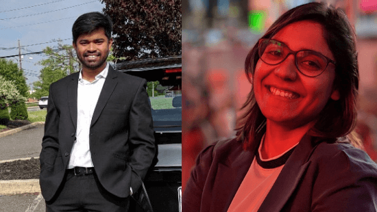 YourMauka Founders: Sanghita Dey and Rajrishi Makur
