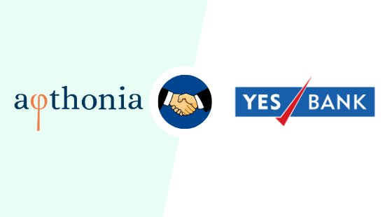 Afthonia Lab Partners With YES BANK