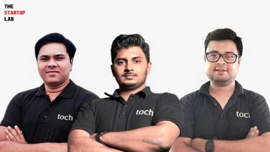 Toch.AI Founders: Vinayak Shrivastav, Alok Patil and Saket Dandotia