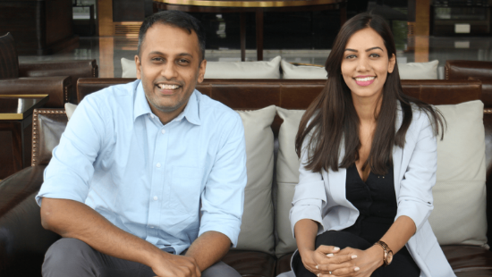 leap.club Founders: Ragini Das and Anand Sinha